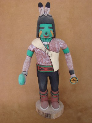 "Hopi Indian Hand Carved ""Field"" Kachina by Deloria Adams! Native American"