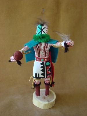 Navajo Indian Handmade Rattle Runner Kachina Dancer by B.G!