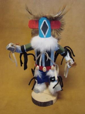 Navajo Indian Handmade Chasing Star Kachina by James