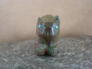 Zuni Pueblo Hand Carved Beaver Fetish by Danette Laate
