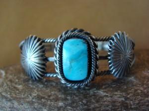 Navajo Indian Jewelry  Turquoise Bracelet! by Daniel Benally