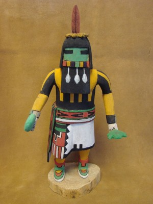 "Hopi Indian Hand Carved ""Long Hair"" Kachina by Deloria Adams! Native American"