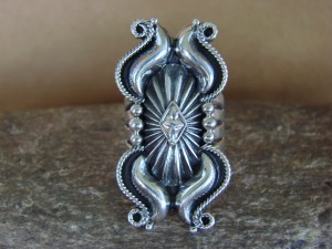 Navajo Indian Sterling Silver  Ring by Derrick Gordon! Size 9