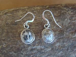 Navajo Indian Sterling Silver Wild Horse Dangle Earrings