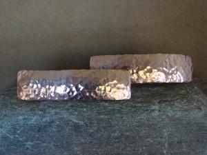 Navajo Indian Jewelry Copper Hammered Hair Barrette Set by Douglas Etsitty!