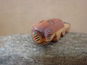 Zuni Indian Carved Beaver Fetish by Brandon Phillips!