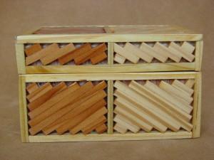 Navajo Indian Handmade Wooden Jewelry Box Trinket