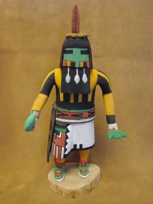 "Hopi Indian Hand Carved ""Long Hair"" Kachina by Deloria Adams! Native American"